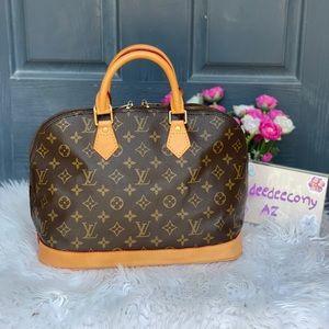 🤩NEW Vachetta 🤩Louis Vuitton Alma pm handbag
